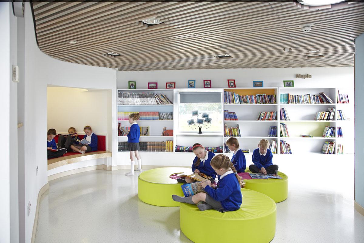 jesmond-gardens-school-library