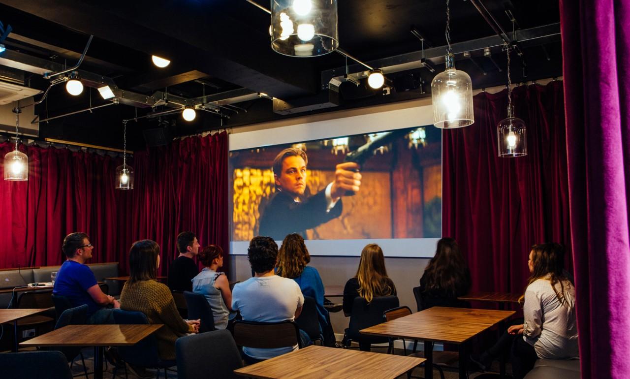 Tyneside Cinema cafe bar film screening