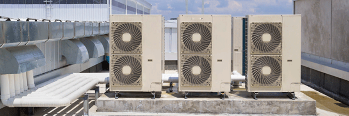 Roof top air conditioning plant