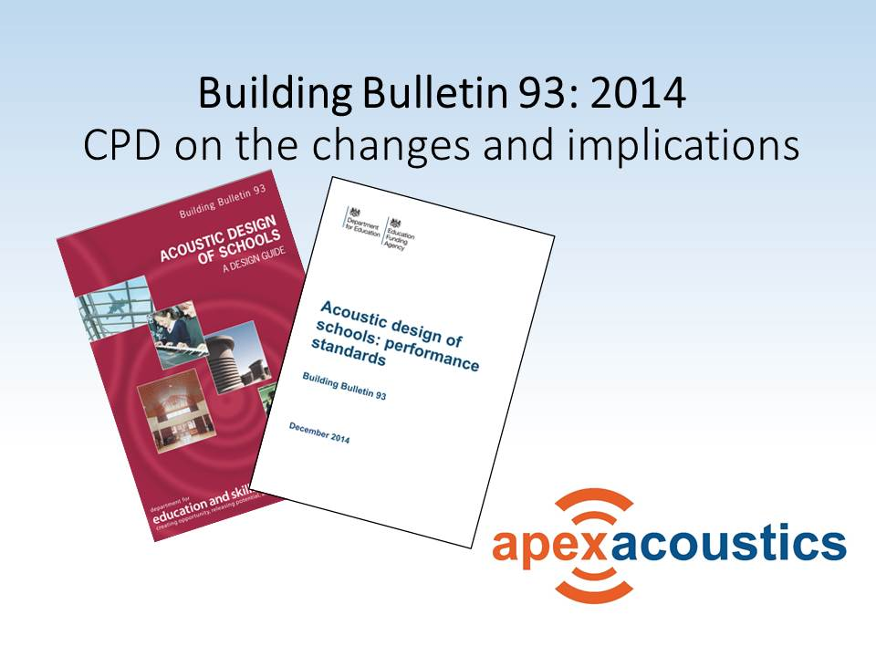 Presentation on the changes to BB 93