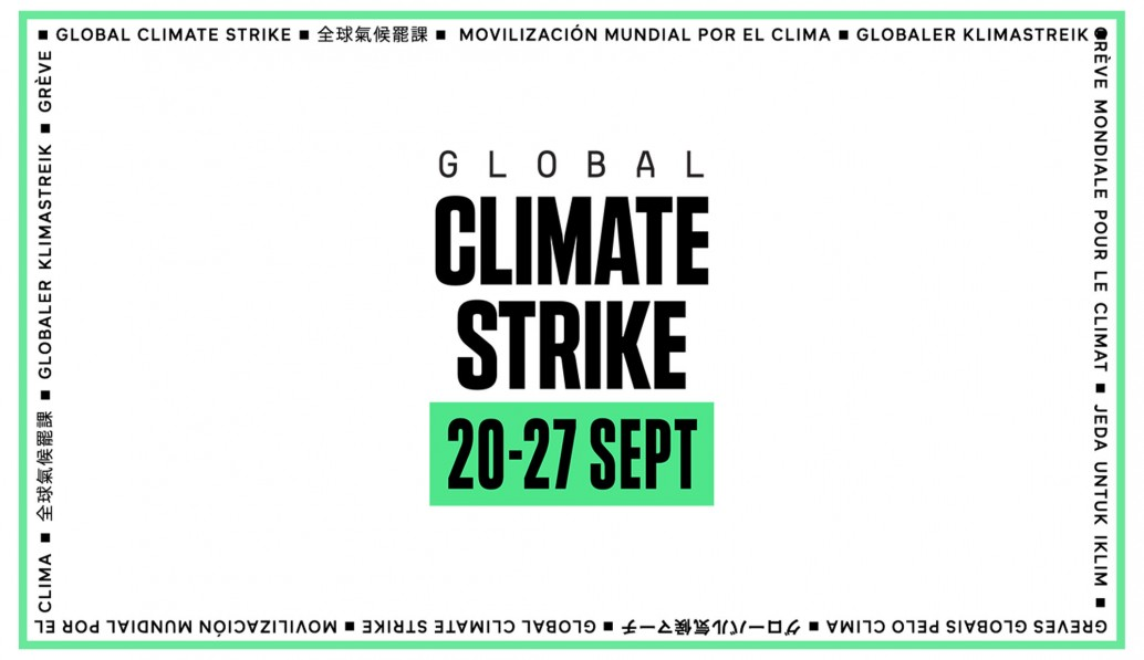 Supporting the climate strike 20th September - Apex Acoustics